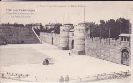 CPA - Fête Des Vendanges à Bordeaux Organisée Par La Petite Gironde :17. Théâtre Des Quinconces, Décor Principal - Bordeaux