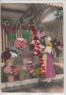 83 - CACHET POSTAL FREJUS- 1957- MARCHE AUX FLEURS  LA COTE D´ AZUR - Frejus