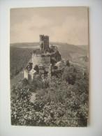 Ruine Ehrenburg   MOSEL   GERMANIA   POSTCARD UNUSED  NON VIAGGIATA FORMATO PICCOLO - Cochem