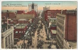Riverside Avenue, A Busy Street In Progressive Spokane - Spokane