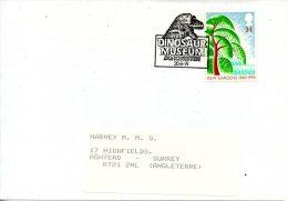 GRANDE-BRETAGNE. Enveloppe De 1991. Musée Des Dinosaures De Dorchester. - Timbres