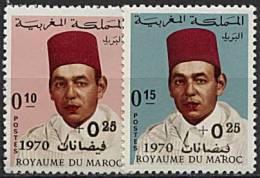 Maroc, N° 598 à N° 599** Y Et T - Marokko (1956-...)