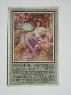 Pk/cp Exposition Gand Gent Litho O De Rycker & Mendel Art Nouveau - Gent