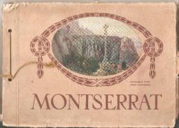 Libro  Historico De Montserrat Escrito En 6 Idiomas. 130 Pag. Impresor Oliva De Vilanova (barcelona) - Historia Y Arte