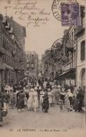 CPA Le TREPORT 76 - La Rue De Paris - Le Treport