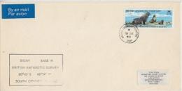 British Antarctic Territory 1963 Signy Cover Ca Signy 19 De 63 (F3680) - Brits Antarctisch Territorium  (BAT)