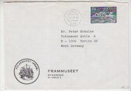 "Norway 1983 Polarshp ""Fram"" Frammuseet Cover Ca Oslo 18.12.83 (F3681) - Poolshepen & Ijsbrekers"