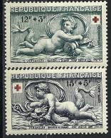 """FR YT 937 & 938 """" Au Profit De La Croix-Rouge """" 1952 Neuf* - France"""