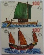 THAILAND - L&G - Pair - Boats - Used - Thaïlande