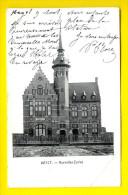 NOUVELLES ECOLES 1904 : HEYST KNOKKE HEIST - SCHOOL ECOLE - ARCHITECTURE BELLE EPOQUE         V80 - Heist