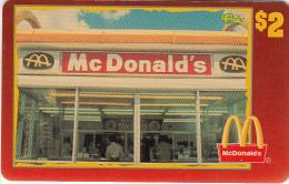 "USA - McDonald""s(25/50), Sprint Promotion Prepaid Card, Tirage 6100, 05/96, Mint"