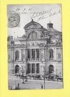 CPA 49 ANGERS Théatre  Animée  1906 ( Superbe Oblitération  ) - Angers