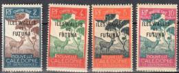 Wallis And Futuna 1920 - Postage Due - Mi.11-14 - MNH(**) - Other