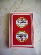 JEU DE 32 CARTES A JOUER BIERE JUPILER SOUS BLISTER