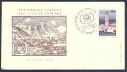 Yugoslavia 1967 Cover: Hvar - 100 Years Of Tourism; Cent Ans De Tourisme; International Year Of Tourism - Ferien & Tourismus