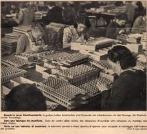 Original Werbung - 1939 - Munitionsfabrik , Munition , Patronen !!! - 1939-45