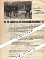 Original Werbung - 1939 - 100 KM-Marsch Der Infanterie-Offiziersschule I/39 , Dr. Wander In Bern , A4 Seite !!! - 1939-45