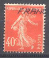 France YT N°194 Semeuse Fond Plein Oblitéré ° - 1906-38 Semeuse Camée