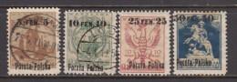 1918    YVERT  Nº 1A  / 4 - ....-1919 Governo Provvisiorio