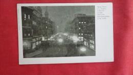 - California> Los Angeles   Night view Spring Street ------      ----------1867