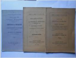 Chambre De Commerce De Boulogne - Séparation / Distraction De L' Arrondissement De Montreuil Sur Mer - Picardie - Nord-Pas-de-Calais
