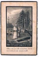 Bid Voor De Ziel, Maria-Coleta D'HAENS (A.F. De Jonghe), Belcele / St. Nicolaes 1839 (69 Jaren) - 2 Scans - Images Religieuses