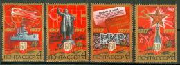 Sowjetunion 4662/65 ** Postfrisch - 1923-1991 USSR