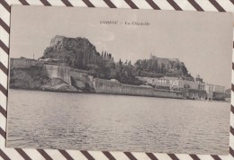 5AH1664 CORFOU LA CITADELLE  2 SCANS - Grecia
