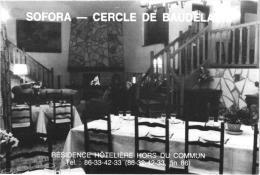 SOFORA -CERCLE DE BAUDELAINE ,RESIDENCE HOTELIERE HORS DE COMMUN ,MONTILLOT ,PLAN AU DOS    REF 44033 - Cartoncini Da Visita