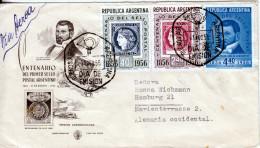 ARGENTINA   1956  FDC - Argentina