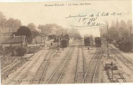 IS-SUR-TILLE -  la Gare c�t� Dijon     47