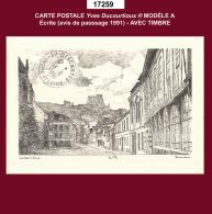 17259 CP Carte Postale Yves Ducourtioux Modèle A 27006 LES ANDELYS - Non Classés