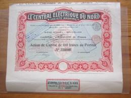 Le Central électrique Du Nord - Electricité & Gaz
