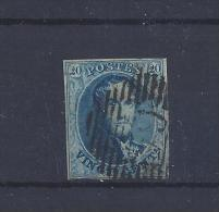 N°11 GESTEMPELD MET 4 MARGES COB € 10.00 SUPERBE - 1858-1862 Médaillons (9/12)