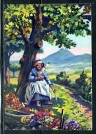 PAYSANNE D4AUVERGNE . Voir Recto Verso   (T156) - Auvergne