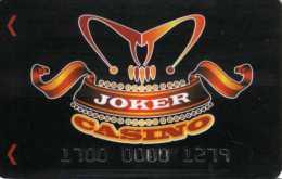 Mexique : Carte Membre :  Joker Casino - Casino Cards