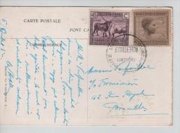 TP 122-108 S/CP C.Courrier De Haute Mer Paquebot Albertville En 1932 V.Bruxelles PR2179 - Congo Belge