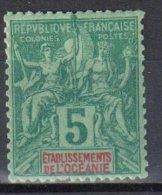 France Oceania 1892 - Mi.4 - MLH - Unused Stamps