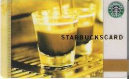 Amerika  Starbucks Card Kaffee Div. Backside  2006-6037 - Gift Cards