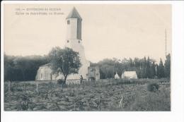 Carte  Des Environs De Royan  église De Saint Palais  Au Bureau ( Recto Verso ) - Royan