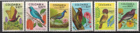 Colombia. Birds. 1977. MNH Set. SCV = 10.20 - Vögel