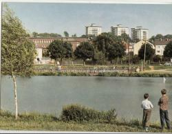 DE609-1970er AK GIEßEN-Universitätstadt-SCHWANENTEICH-Ungel.Color - Giessen