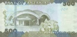 TANZANIA P. 40 500 S 2010 UNC - Tanzanie