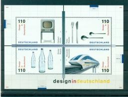 Allemagne -Germany 1999 - Michel Feuillet N. 50 - Design En Allemagne ** - Neufs
