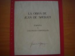 La Obra De Jean Sperati - España Y Colonias Españolas - Literatura