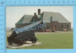 Aulac New Brunswick ( Fort Beausejour Gun Canon  ) Carte Postale Postcard ,2 Scans - Nouveau-Brunswick