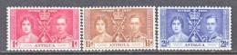 ANTIGUA  81-3   **  CORONATION - Antigua & Barbuda (...-1981)