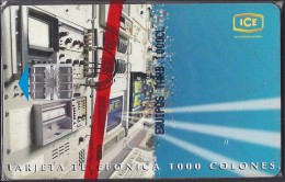 COSTA RICA EQUIPOS ESTACION TERRENA TARBACA CHIP 1997 NEW in BLISTER