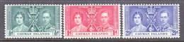 CAYMAN  ISLANDS  97-99     **  CORONATION - Cayman Islands