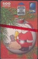 COSTA RICA CHRISTMAS, FELIZ NAVIDAD 1998 CHIP NEW in BLISTER